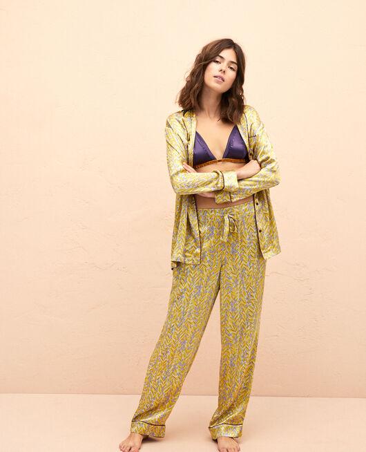 Pyjama Hose Laub FOGLIO