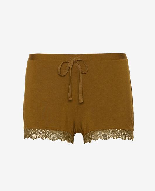Pyjama-Shorts Grün bowie REVERIE