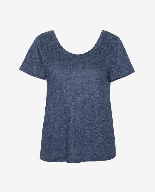Kurzärmliges T-Shirt Indigo CASUAL LIN
