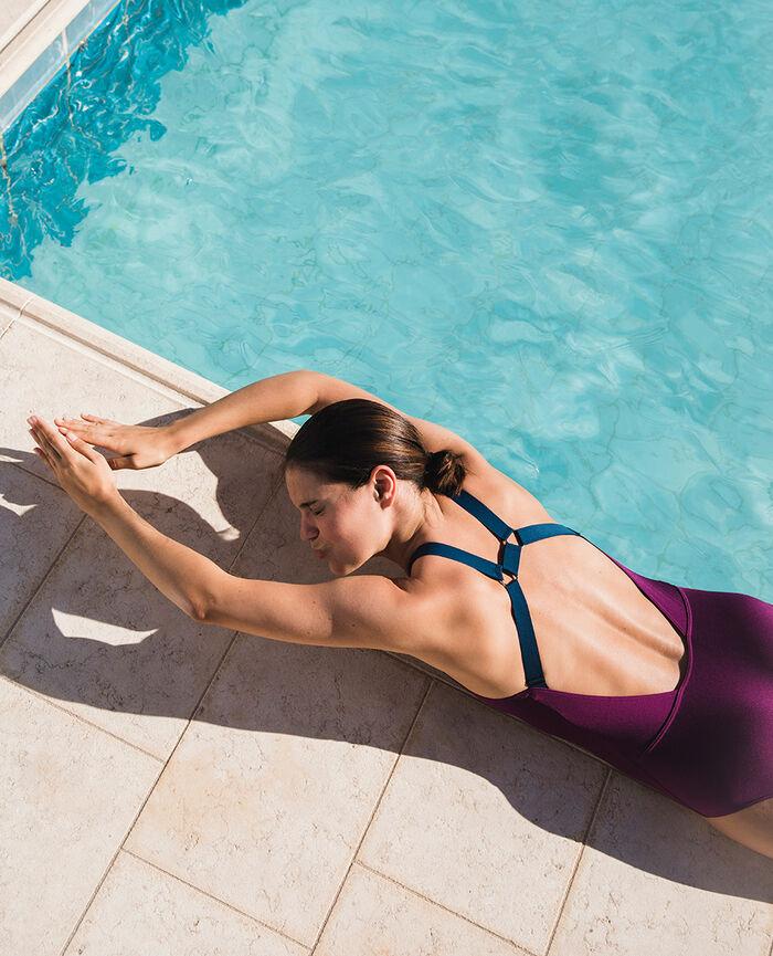 Sport-Badeanzug Sultan Violet DIVE