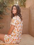 Pyjama-Set Orangenbaum elfenbein TUTTI FRUTTI