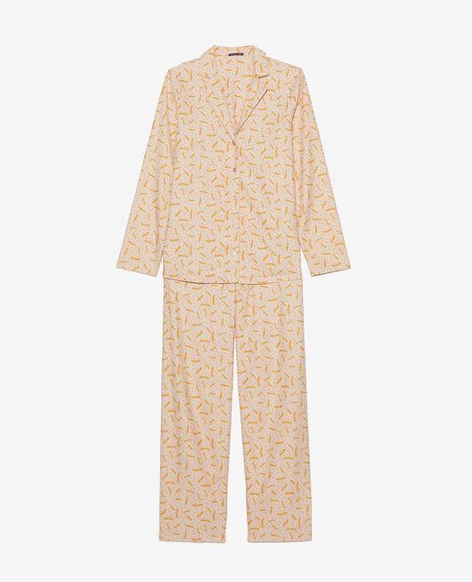 Pyjama-Set Feder Beige natürlich DODO