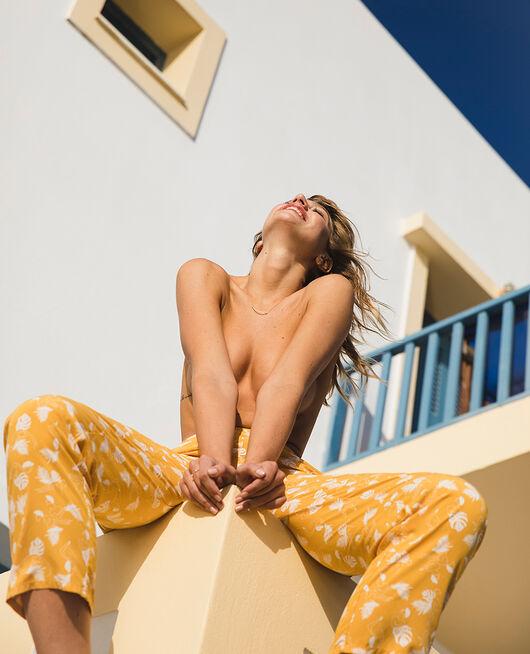 Pyjama-Hose Hammam Gelb BAHIA