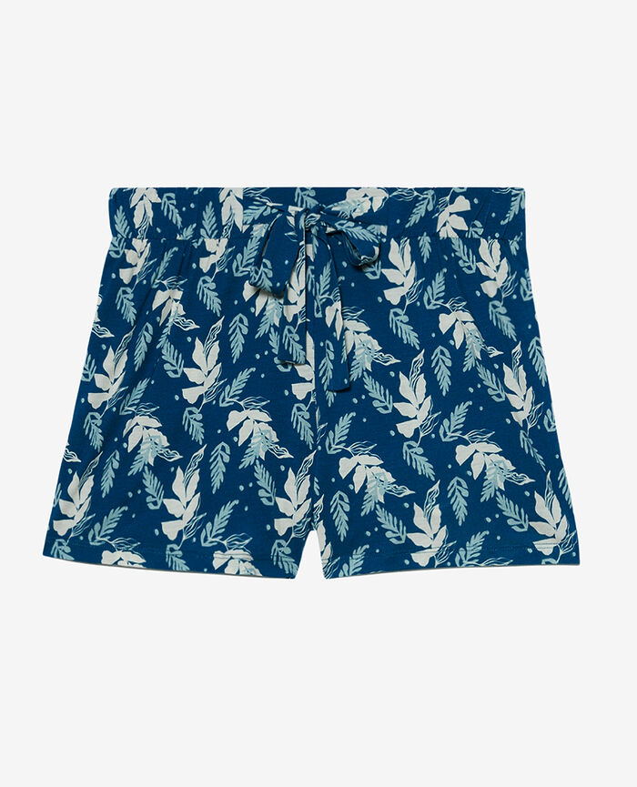 Pyjama-Shorts Aronstabgewächs Sombreroblau TAM TAM SHAKER