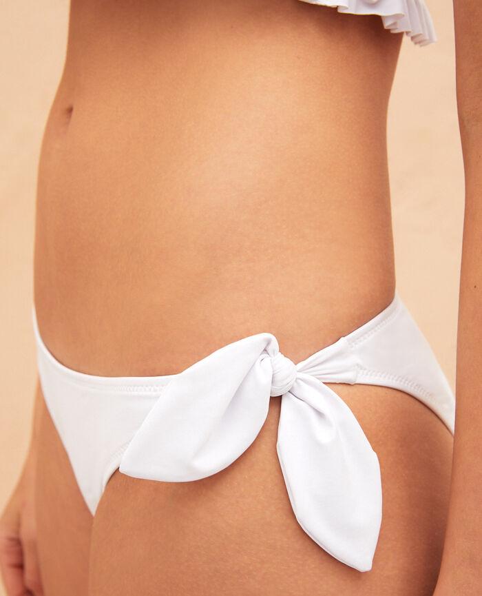 Ausgeschnittener Bikinislip Weiß CASABLANCA