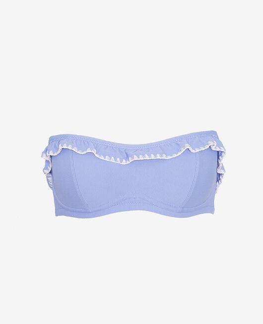 Bandeau-Bikini mit Bügel Diva blau FROUFROU
