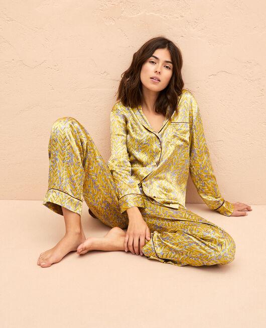 Pyjama-Jacke Laub FOGLIO