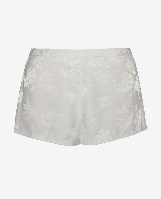 Pyjama-Shorts Weiß rosé MENARA