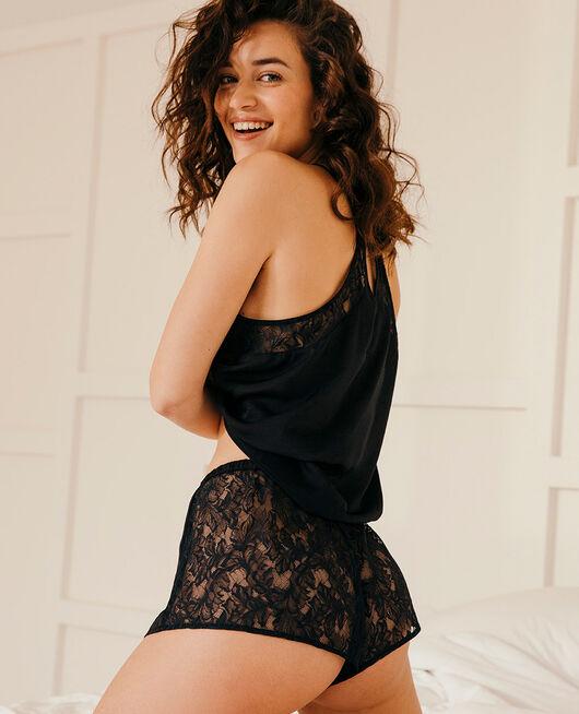 Pyjama-Shorts Schwarz MINUIT