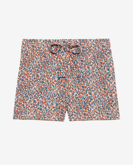 Pyjama-Shorts Idylle Gewitterblau TAMTAM SHAKER