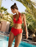 Gepolstertes Triangel-Bikini-Oberteil Pamela Rot IMPALA