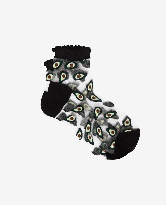 Socken Bunt AVOCADO