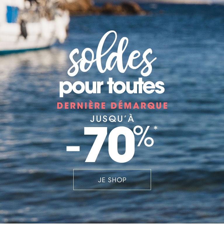 Soldes Lingerie femme & Maillot de bain jusqu'à -70%