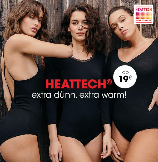 Heattech® : extra dünn, extra warm!