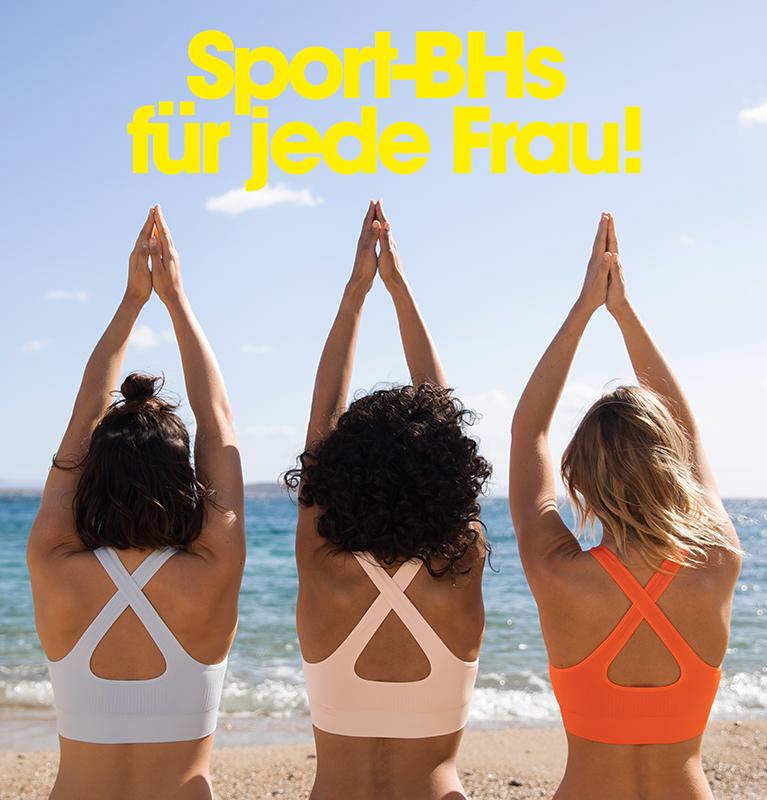Sport-BHs für jede Frau!