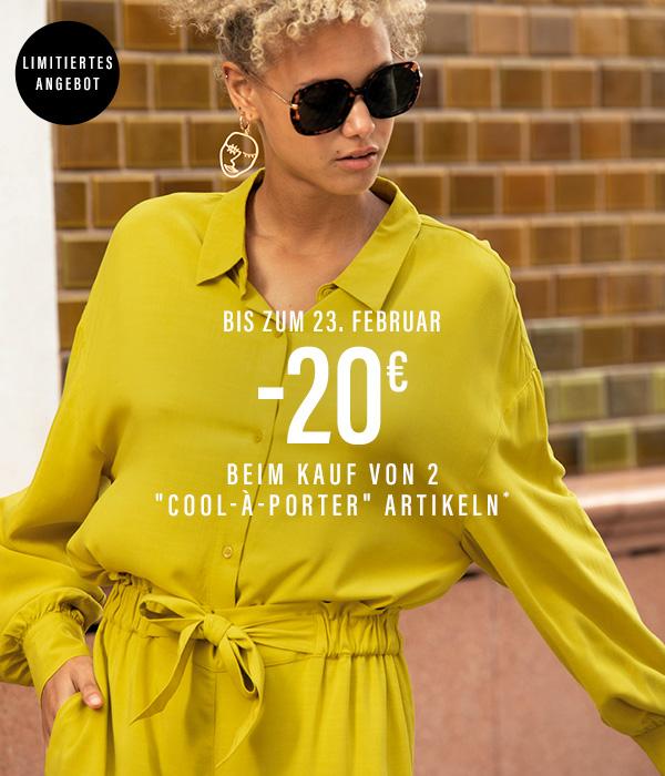 -20€ beim Kauf von 2 cool-à-porter Artikeln*