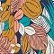 Slip mit Fantasie-Motiv Amazonien wassergrün TAKE AWAY